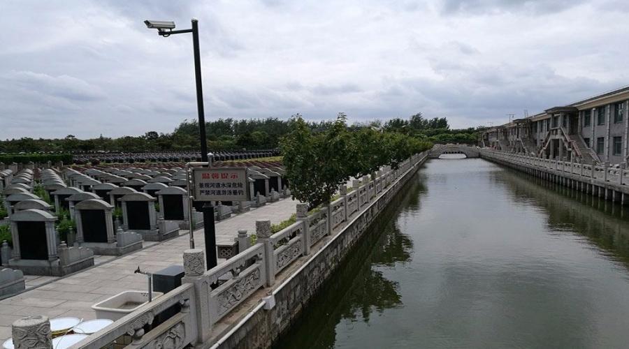 乐乡公墓小河