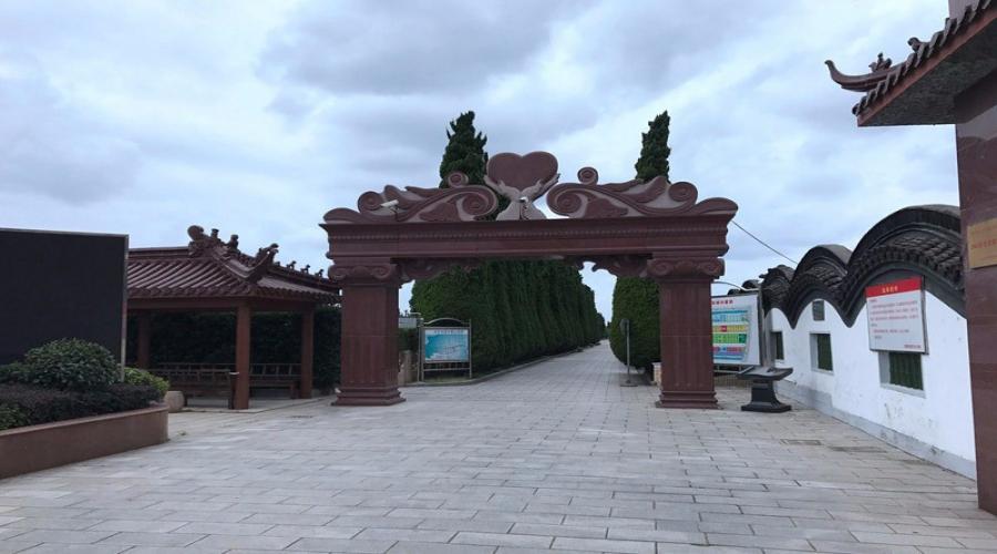 乐乡公墓大门