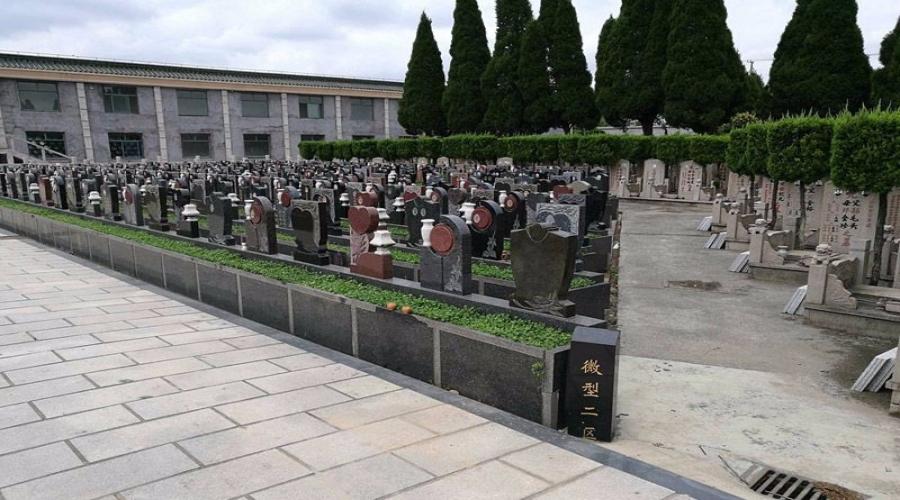 乐乡公墓景色